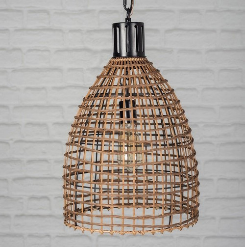 Wicker Pendent Lamp