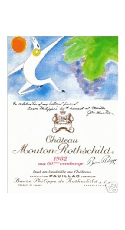 1982 Ch Mouton Rothschild Ier Grand Cru