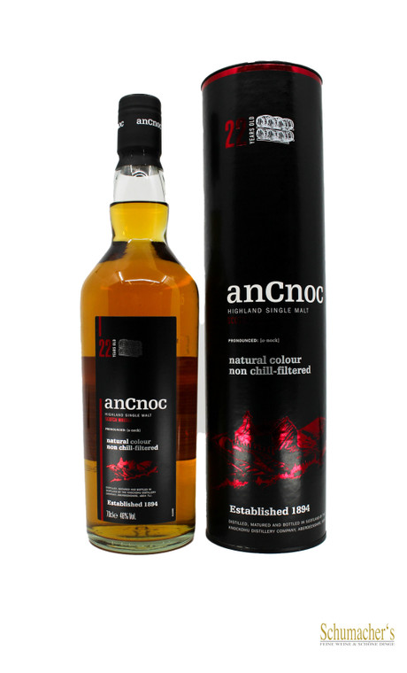 anCnoc 22 Year Limited Edition