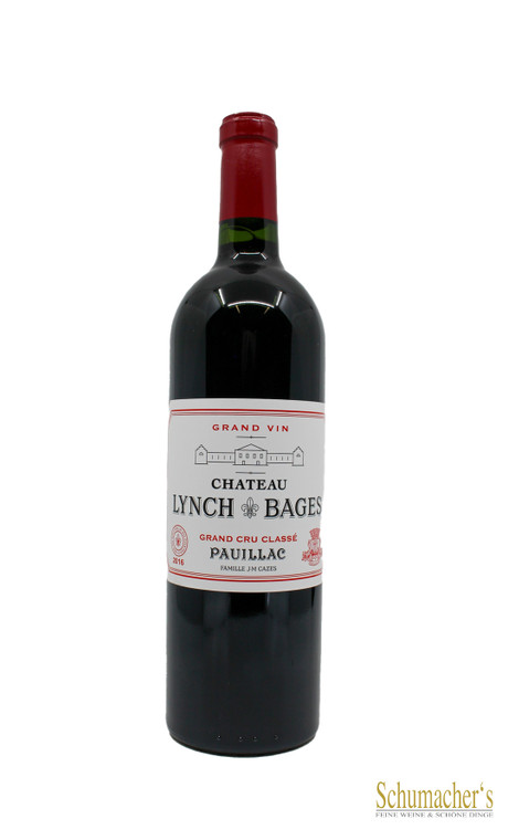 2016 Ch Lynch Bages Grand Cru