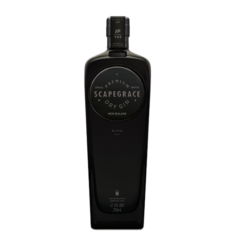 Gin Scapegrace New Zealand  Black