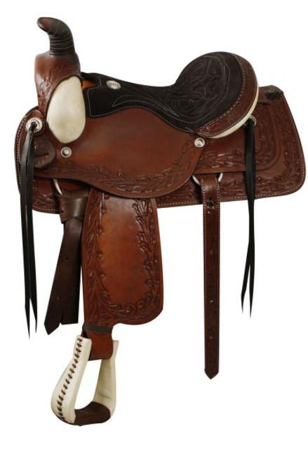 Roper Style Saddle made by Circle S Saddlery
