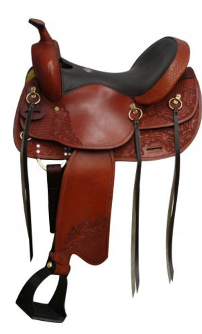 """16"""", 17"""" Double T  Trail style saddle"""