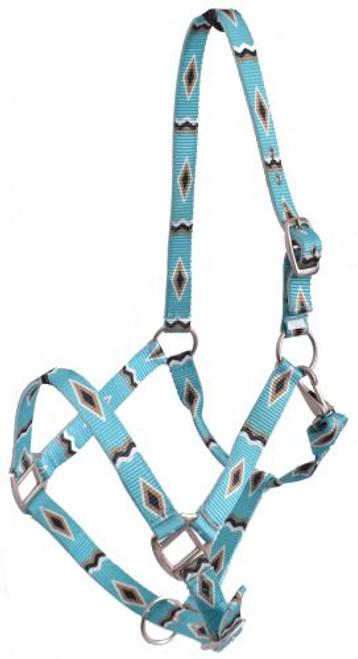 Showman® Premium Nylon Horse Sized Halter