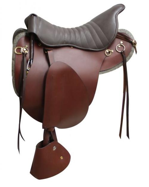 "18"" Trooper saddle Brown"