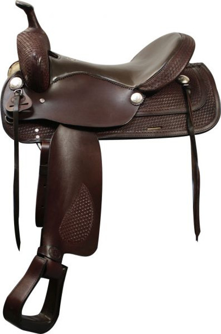 """16"""" Double T Trail Style Saddle"""
