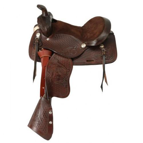 King Series Jr. Classic Pony Saddle in Dark Oil