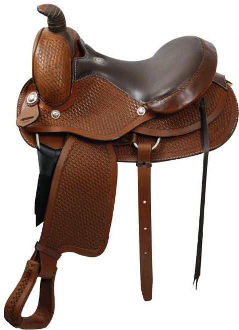 """15"""" 16"""" Western Roping  Style Saddle"""