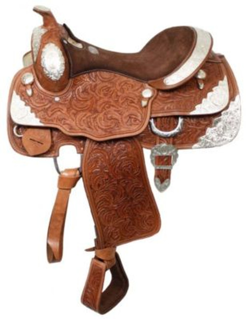 "16"" Fully Tooled Show Saddle"