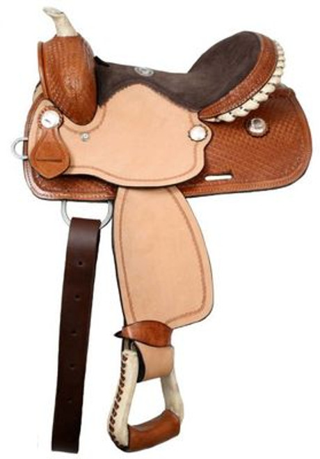 "12 "" Youth Saddle Double T"