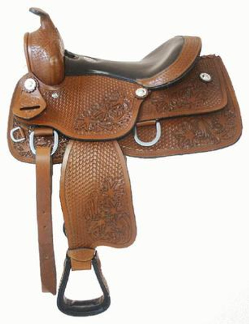 "13"" Fully Tooled Youth Saddle"