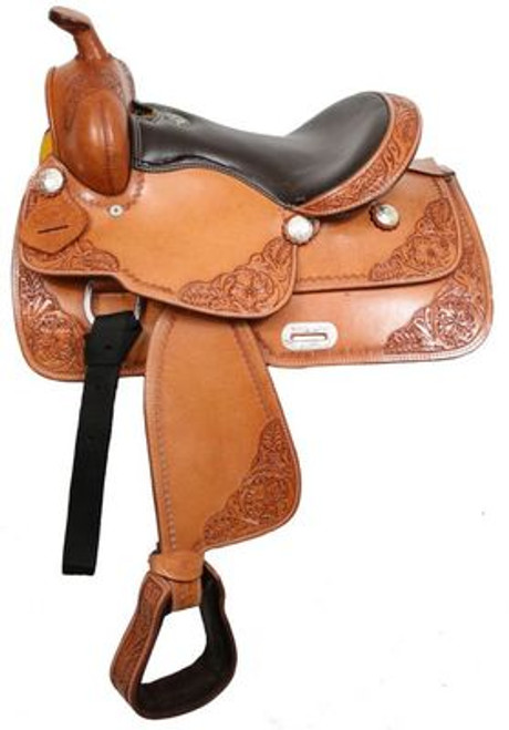 "13"" Youth Saddle Spot Tooled Show"