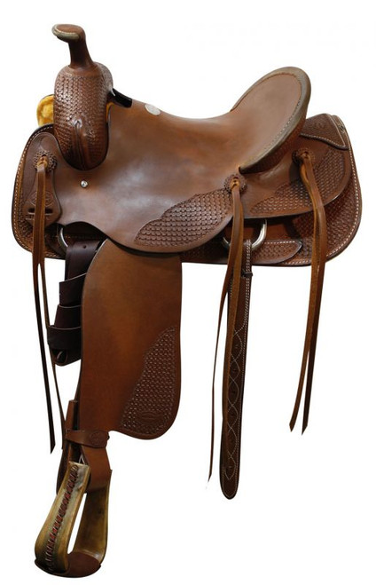 "16"" Showman Roping Saddle Roping Warranty"