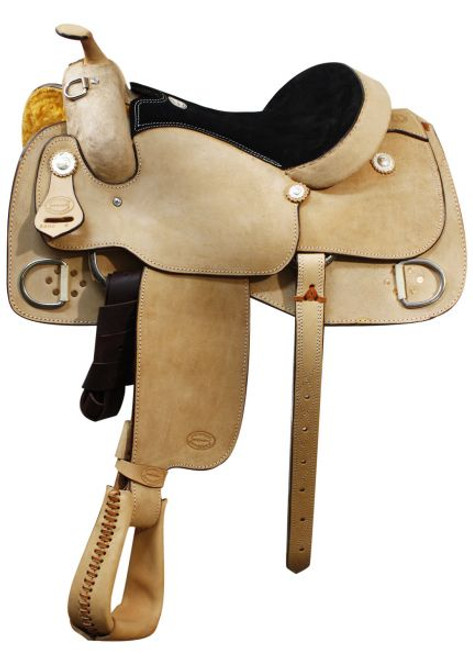"17"" SH5200-17 Showman Training Saddle"