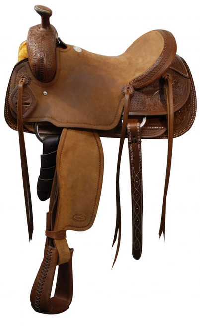 "16"" Showman Roping Saddle / Roping Warranty"