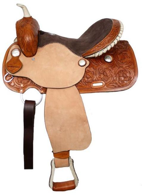 "15"" 16"" Rawhide Barrel Saddle"