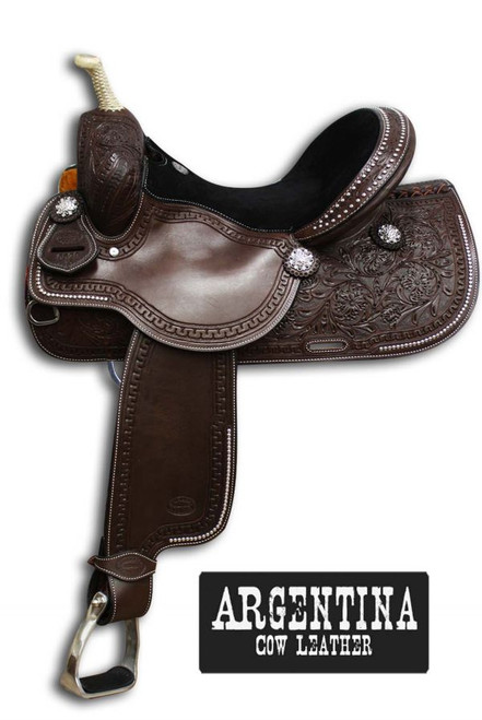14 inch Youth or Adult Barrel Saddle! Extra Nice! Lazy Oak Equine 270-433-7809