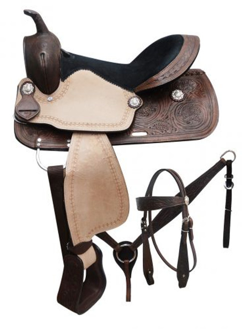 "16"" Saddle Set"