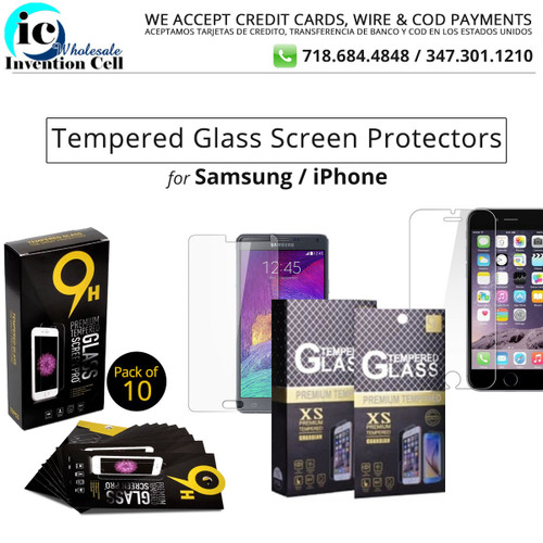 Tempered Glass Screen Protectors iPhone 7