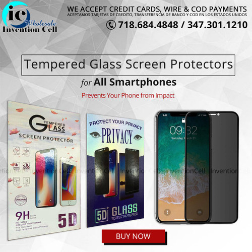 Privacy Tempered Glass Screen Protectors 5G (iPhone XS/ X) indiviual pack