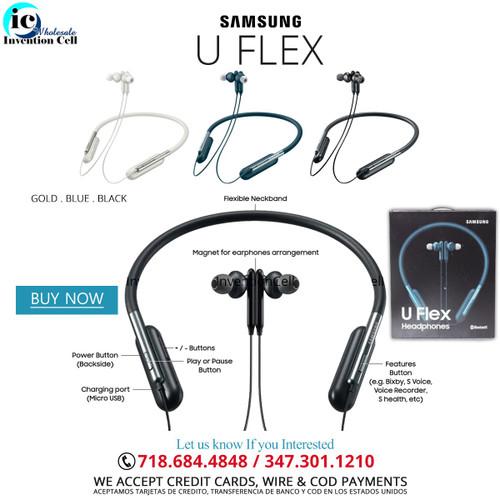 Bluetooth Samsung  U Flex (Headphone) Gold (New)