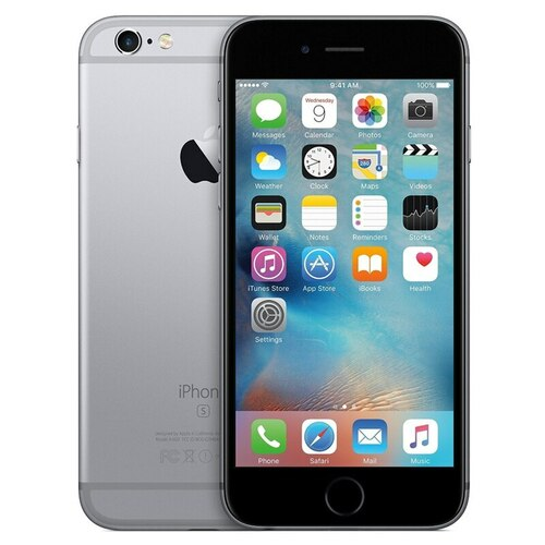 Iphone 6s 16GB (AStock) Unlocked,with Box and Charger (Gray)