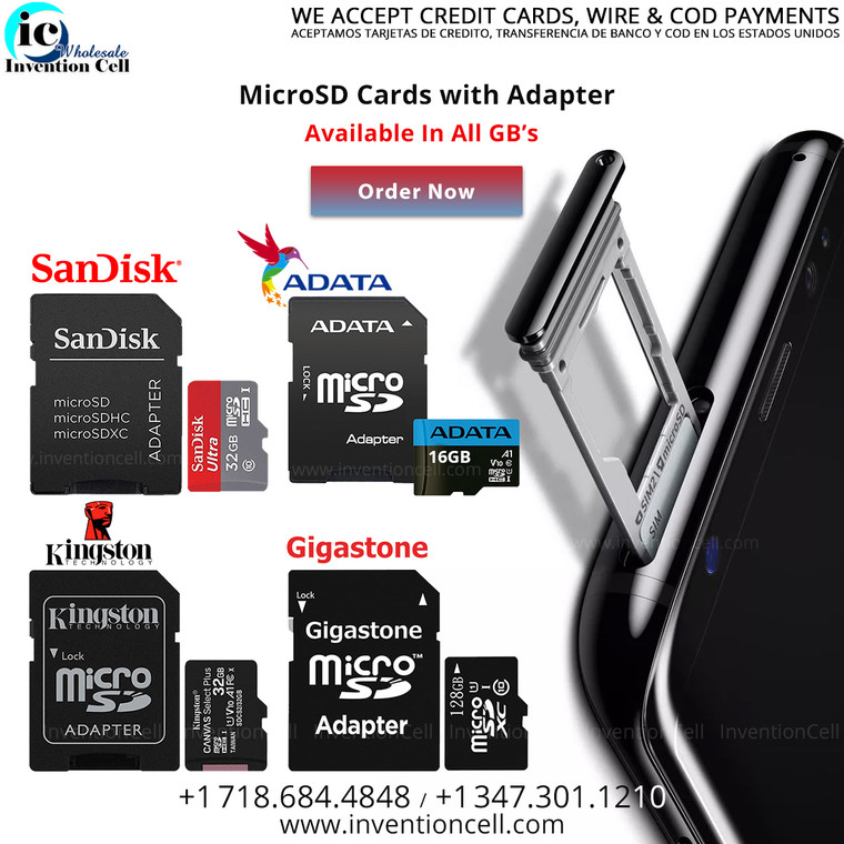 Micro SD Card 16GB (New) Adata