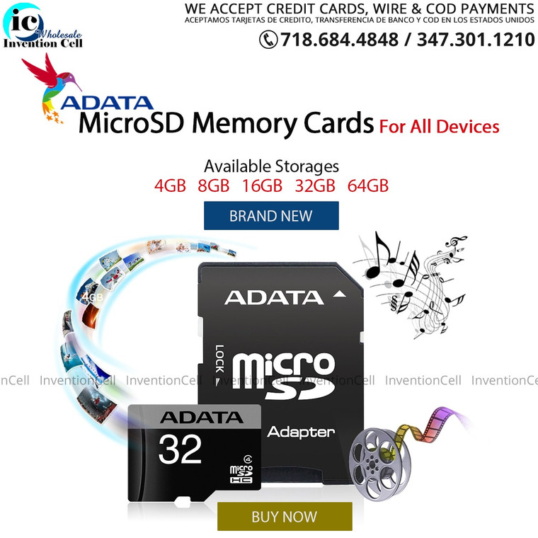 Micro SD Card 16GB (New Retail packaging) Adata