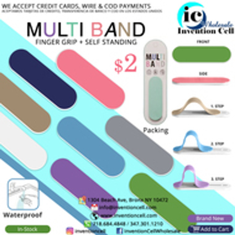 Multi Band Accessory To put behind Phone (New) Pink