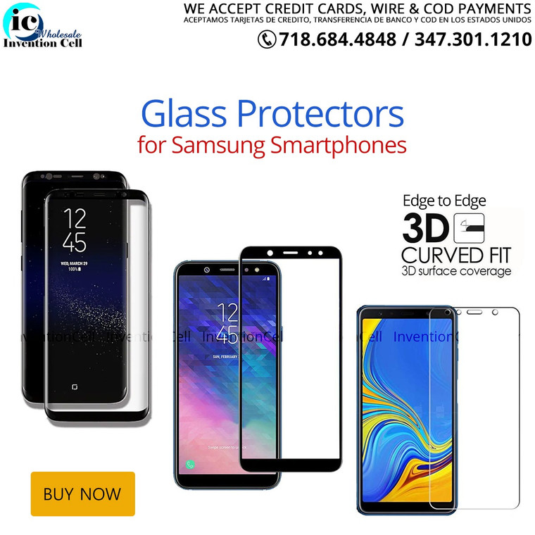 Tempered Glass Screen Protectors  (Samsung Note 9) curved Case Friendly