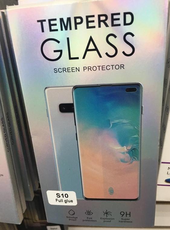Full Glue UV curve glass ( Samsung  S10 Plus) indvidual pack (Clear)