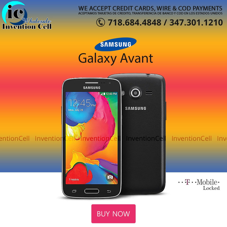 Samsung Galaxy Avant (T-Mobile) Lock (Black)