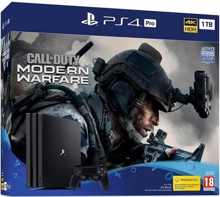 PS4 PRO 1TB BUNDLE CALL OF DUTY (New) Black