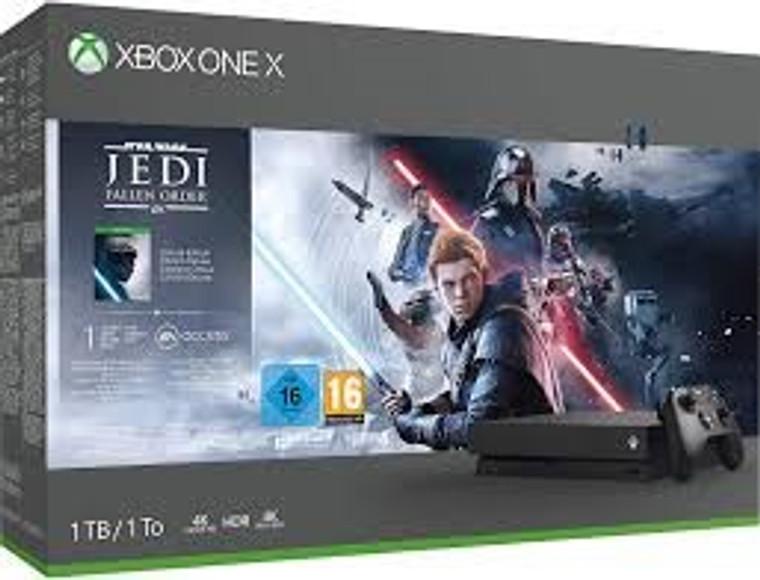XBOX ONE X (BUNDLE JEDI) Brand (New) Sealed (White)