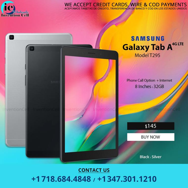 """Samsung Galaxy Tab A (8"""" 4G LTE) 32GB (New) Sealed (T295) Black"""