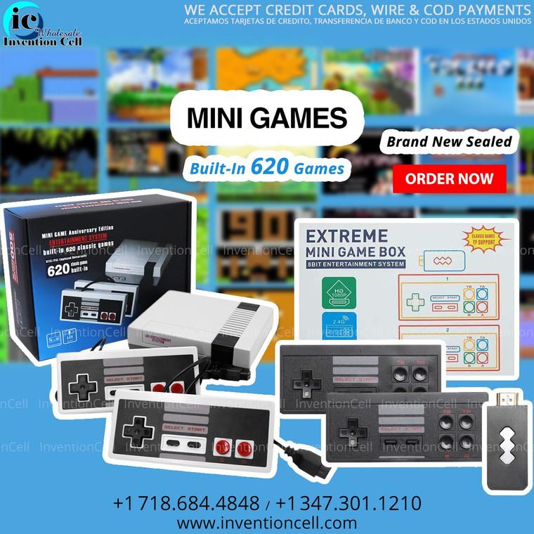 620 Game Console (Mini Game Box) New Sealed (Black)