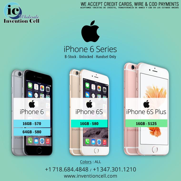 iPhone 6s Plus (Unlocked) B- Stock (Handset Only)
