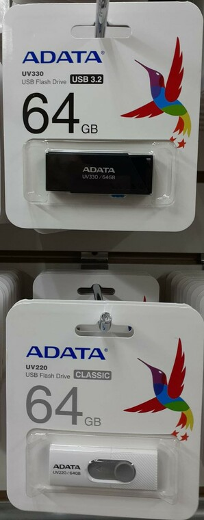 Adata Usb Drive (Black) 64GB