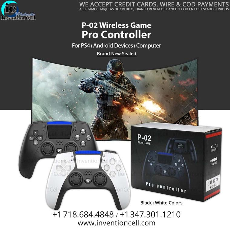 Wireless Pro Controller P-02 (Transform Any Key) New