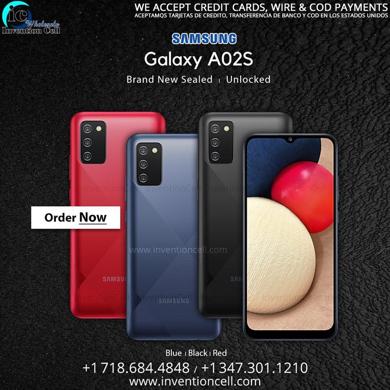 Samsung Galaxy A02s 32GB, 4G Lte (OEM Unlocked) New Sealed (Black)