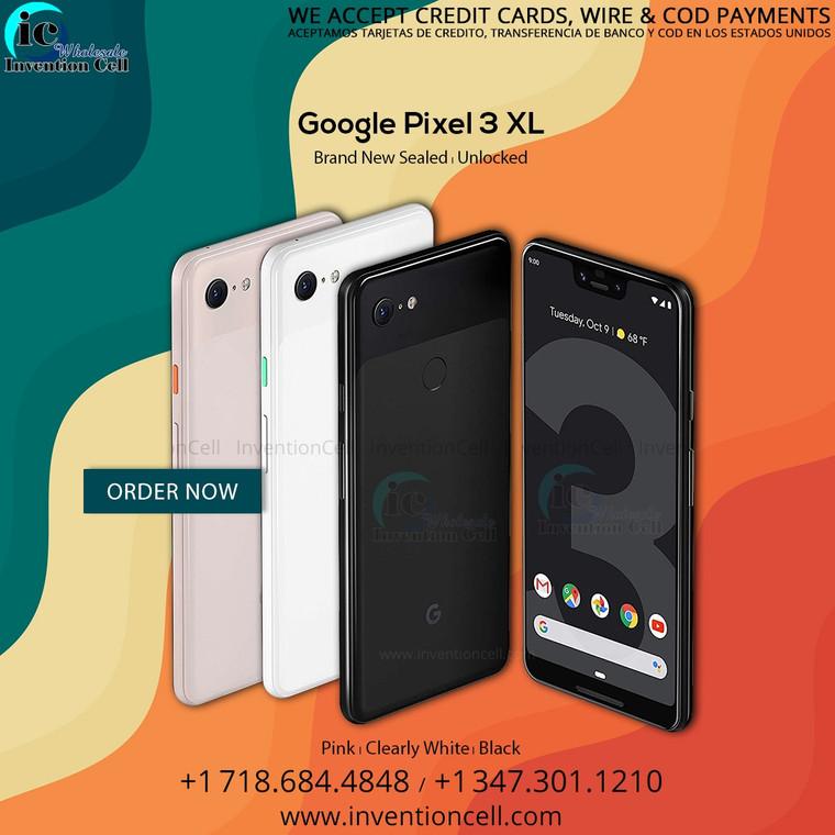 Google Pixel 3 XL 64GB,4G Lte (Unlocked) New
