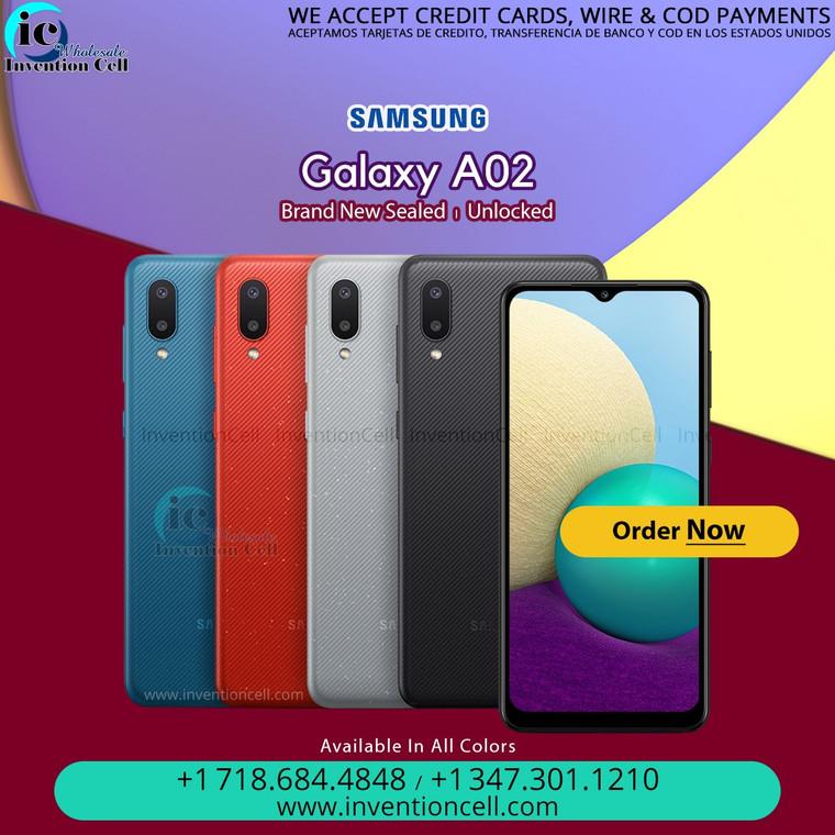Samsung Galaxy A02 64GB, 4G Lte (OEM Unlocked) New Sealed