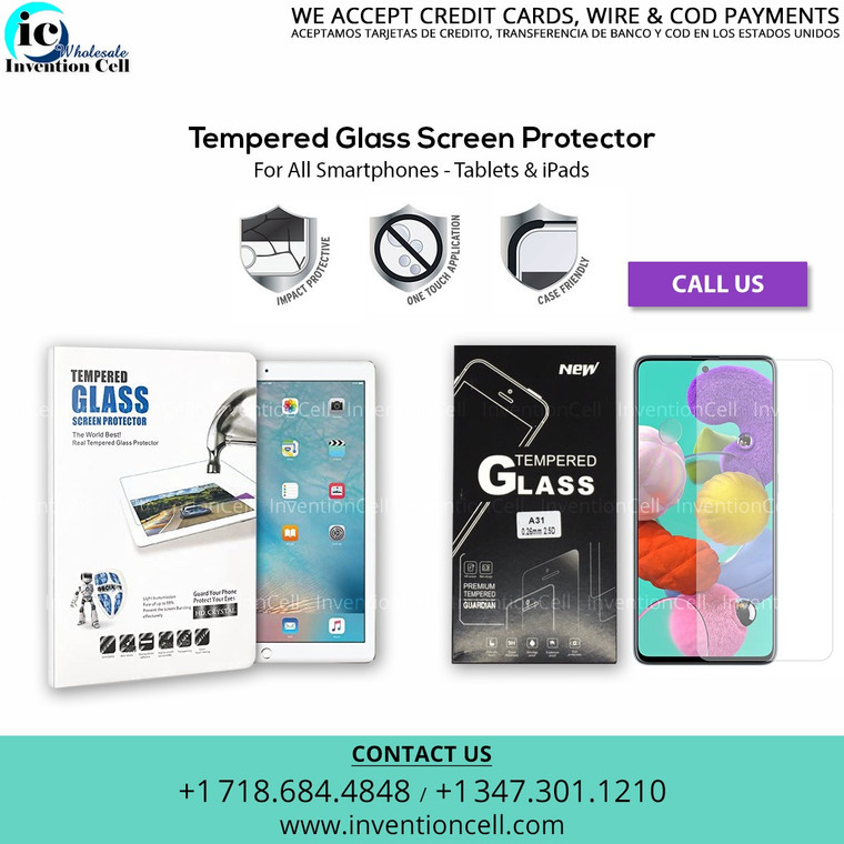 Tempered Glass Individual Pack for Samsung Galaxy S21 Ultra
