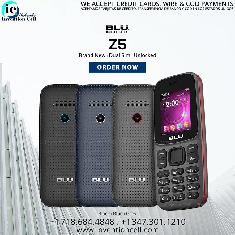 Blu Z5, 4G LTE (New)Sealed Box, Unlocked (Dual Sim)