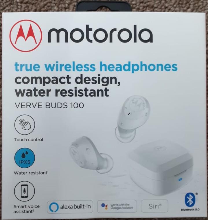 Motorola Verve Buds 100 (Bluetooth) White
