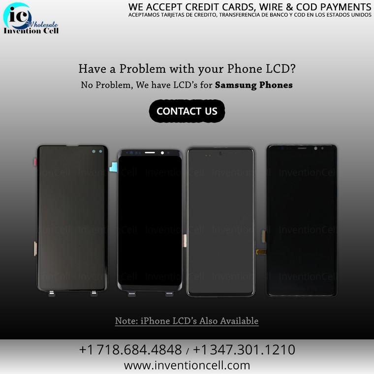 LCD Samsung Galaxy A02S W/Frame (Black) A++