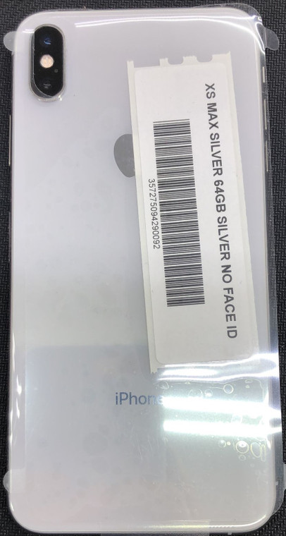 iPhone Xs Max 64GB (Face ID dosen't Work) Handset Only (Silver)