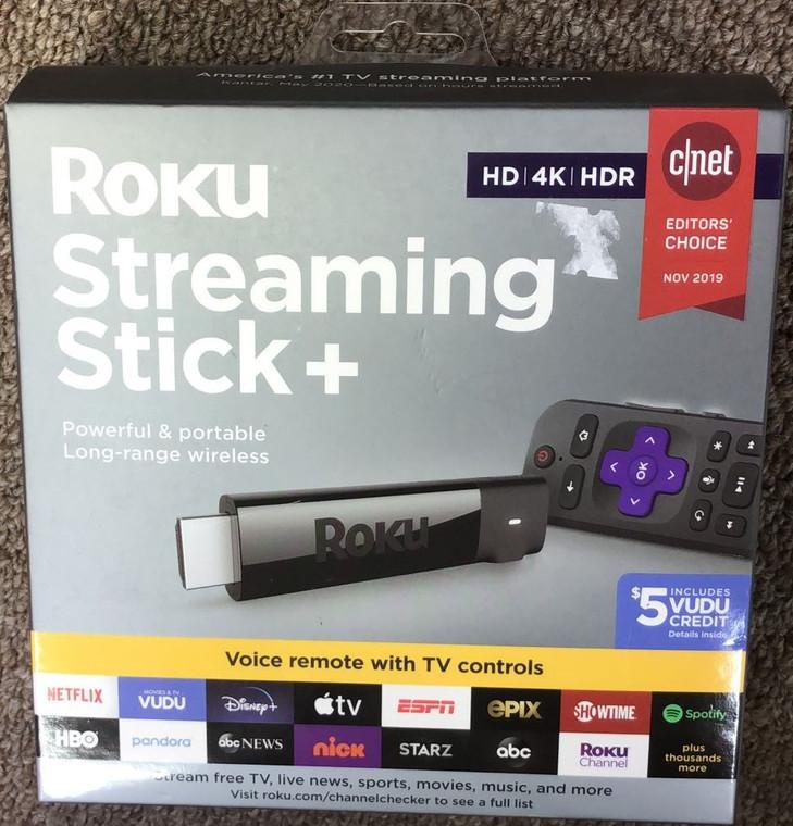 ROKU Streaming Stick Plus HD 4K New Sealed