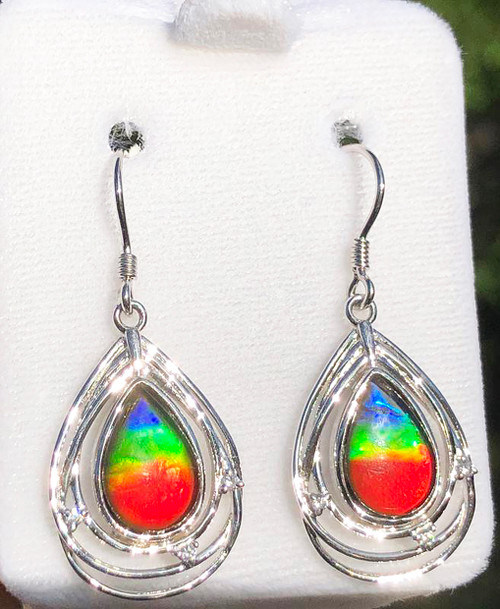 Ammolite Solara Style Earrings 20SLE