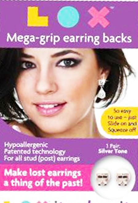 Lox locking earring backs